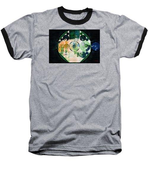 Baseball T-Shirt featuring the digital art Abstract Painting - Onyx by Vitaliy Gladkiy