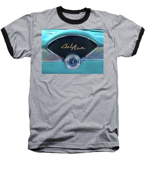 55 Chevy Dash Baseball T-Shirt