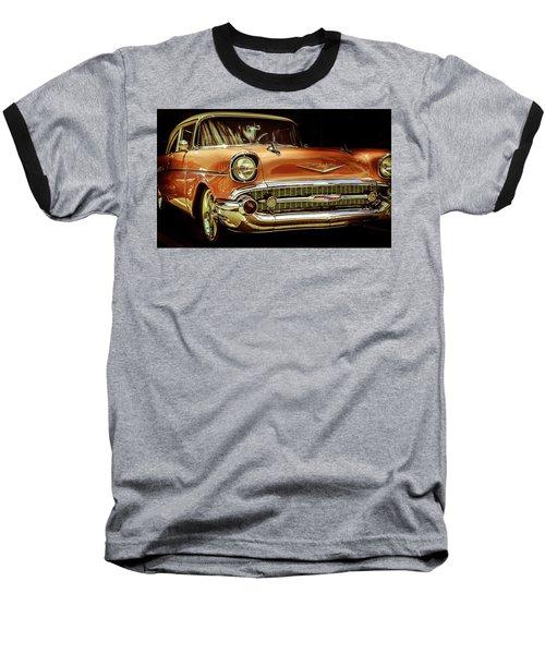 55 Chevy Baseball T-Shirt