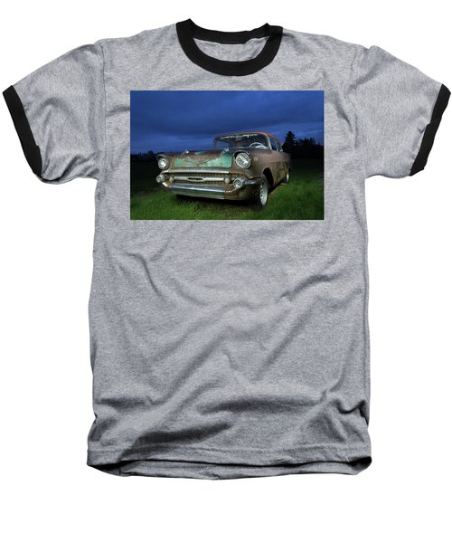 57' Chevrolet Baseball T-Shirt
