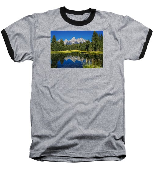 #5700 - Shwabakers Landing, Wyoming Baseball T-Shirt