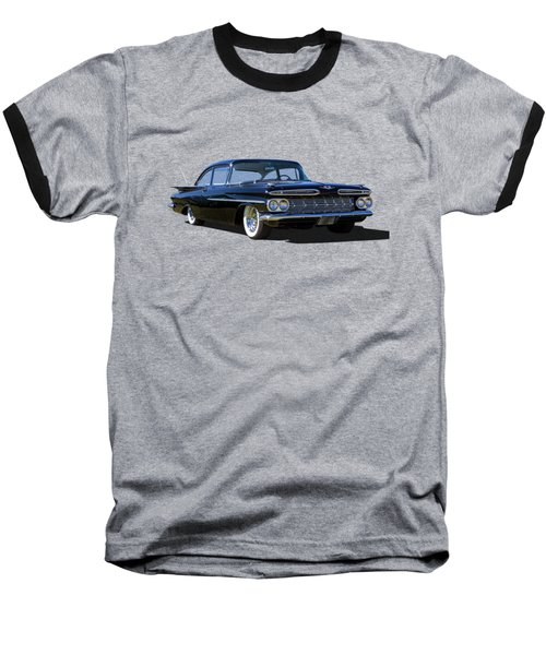 59 Black Baseball T-Shirt