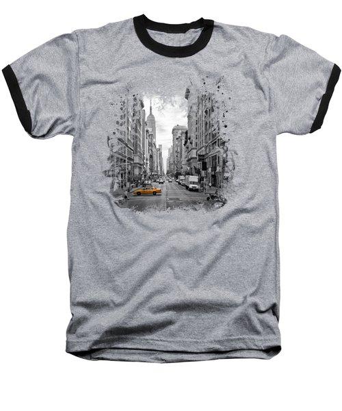 New York City 5th Avenue Baseball T-Shirt