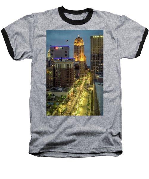 5th Street Cincinnati Baseball T-Shirt by Scott Meyer