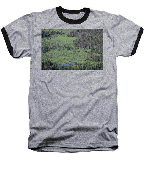 Scenery Rocky Mountain Np Co Baseball T-Shirt