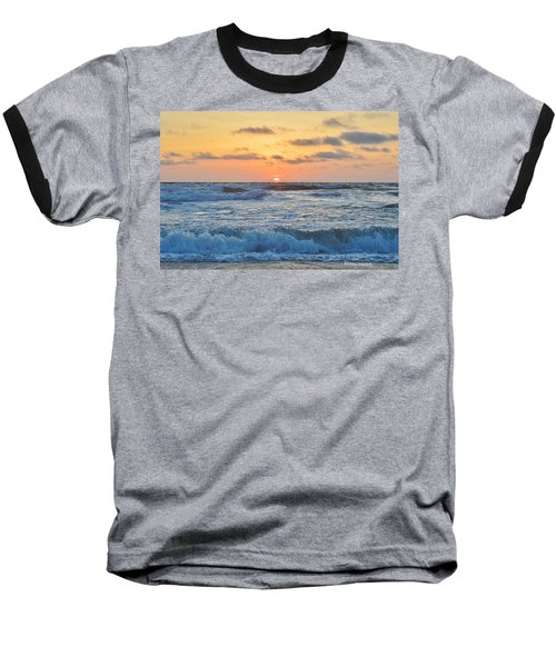 6/26 Obx Sunrise Baseball T-Shirt