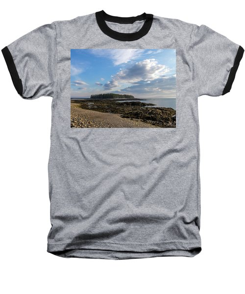 Acadia National Park Baseball T-Shirt by Trace Kittrell