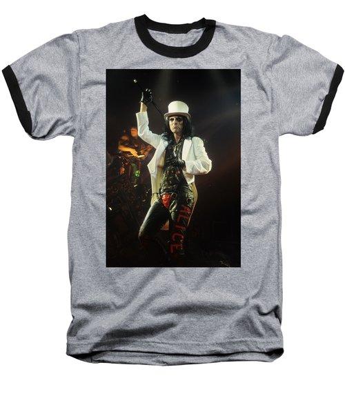 Alice Cooper Baseball T-Shirt
