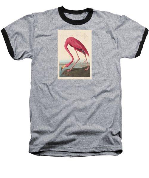 American Flamingo Baseball T-Shirt