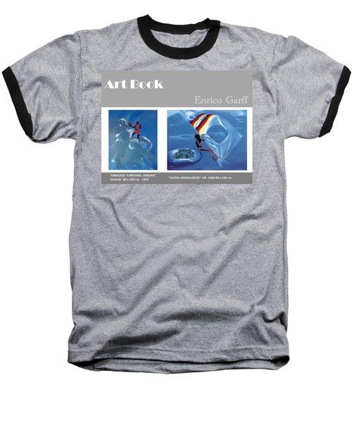 Art Book Baseball T-Shirt