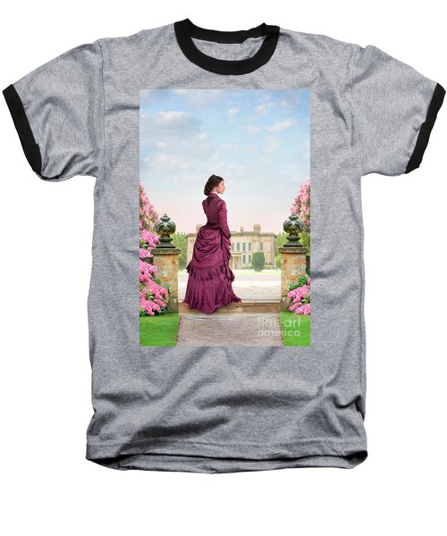 Beautiful Victorian Woman Baseball T-Shirt