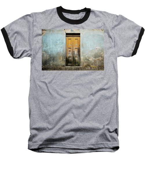 Baseball T-Shirt featuring the photograph Door With No Number by Marco Oliveira