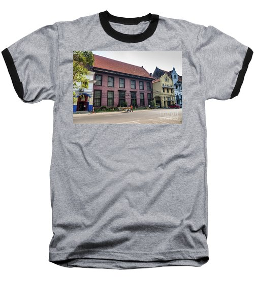 Dutch Colonial Buildings In Old Town Of Jakarta Indonesia Baseball T-Shirt