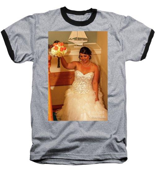 Faulkner Wedding Baseball T-Shirt