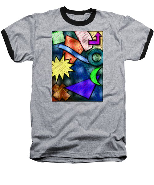 Funky Fanfare Baseball T-Shirt by Kyle West