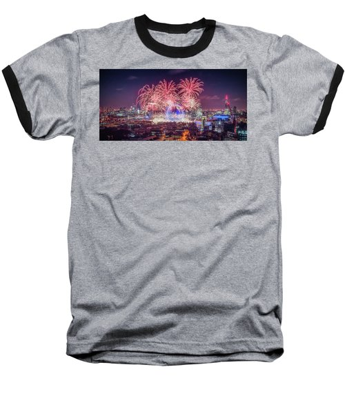 Happy New Year London Baseball T-Shirt