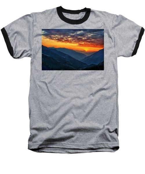 Kalinchok Kathmandu Valley Nepal Baseball T-Shirt
