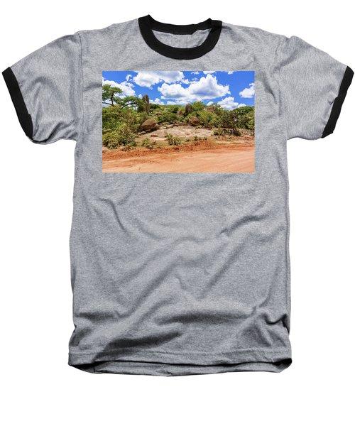 Landscape In Tanzania Baseball T-Shirt