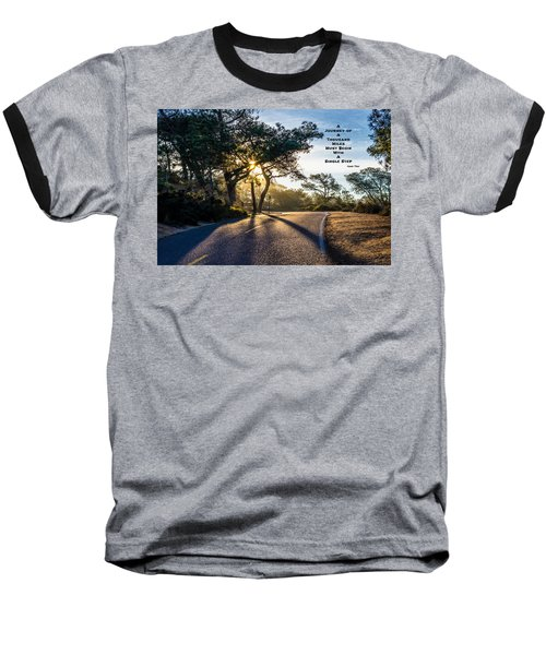 Lao Tzu Quote Baseball T-Shirt