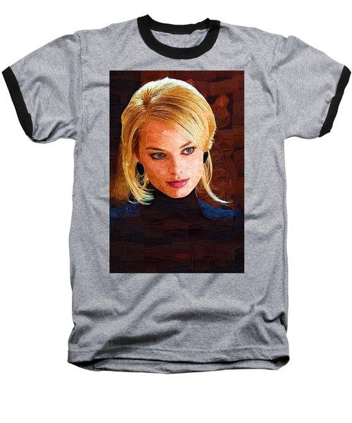 Margot Robbie Painting Baseball T-Shirt