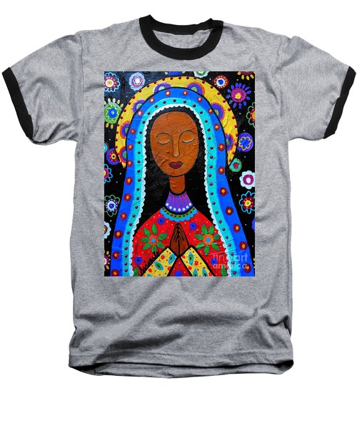 Our Lady Of Guadalupe Baseball T-Shirt