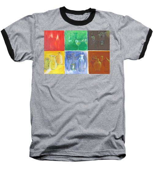 6 Panes Of Existence Baseball T-Shirt