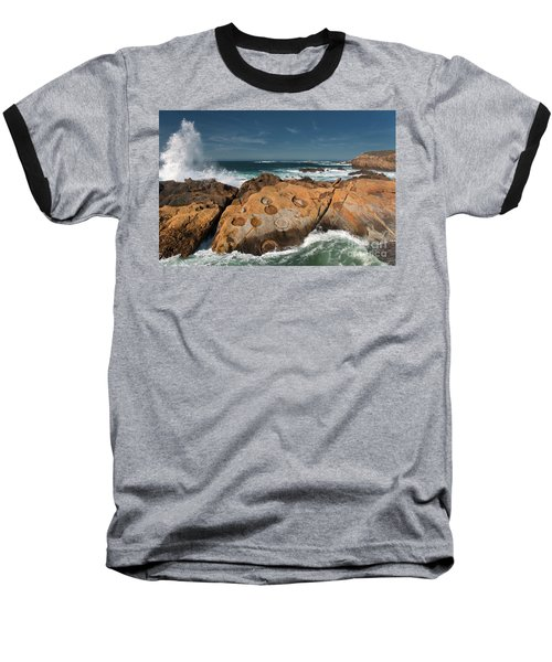Point Lobos Concretions Baseball T-Shirt