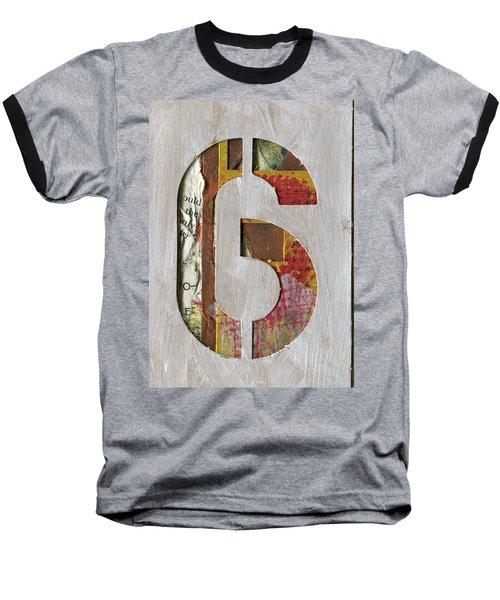 Number 6 Baseball T-Shirt