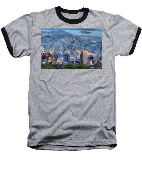 Salt Lake City Utah Usa Baseball T-Shirt