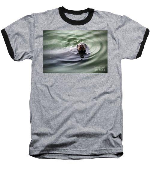 San Francisco, California Baseball T-Shirt by Wernher Krutein