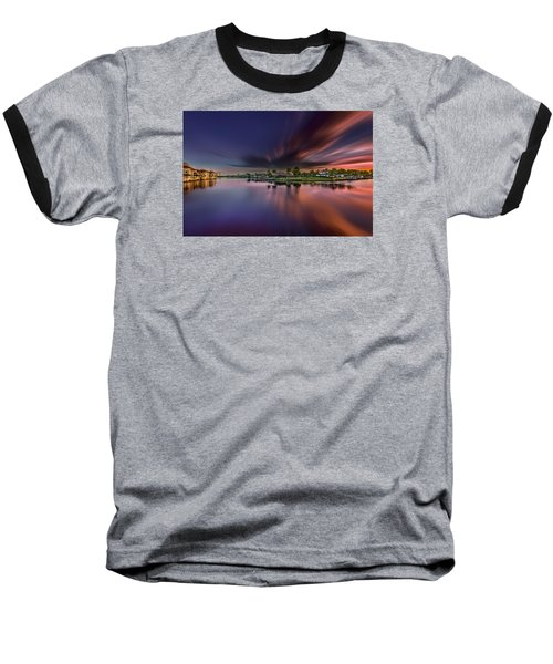 Sunrise At Naples, Florida Baseball T-Shirt