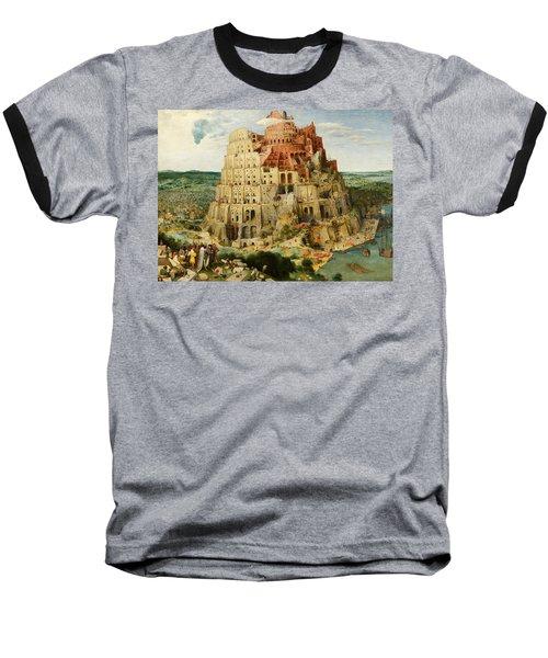 The Tower Of Babel  Baseball T-Shirt
