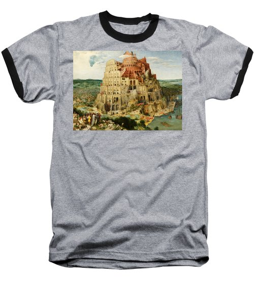 The Tower Of Babel  Baseball T-Shirt