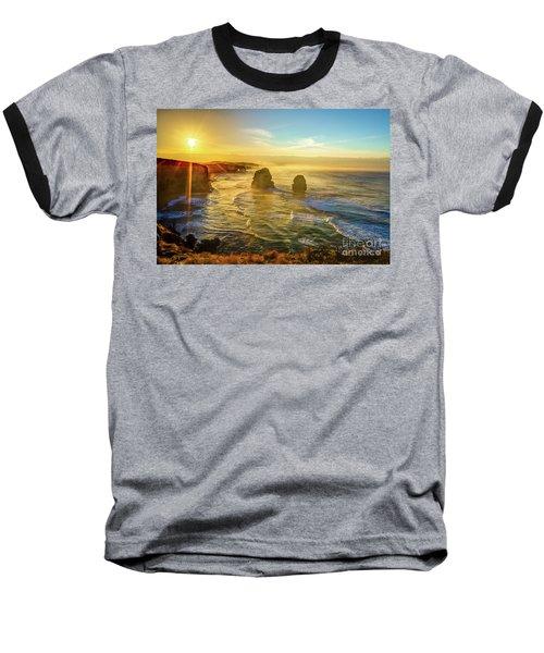 Twelve Apostles Victoria Baseball T-Shirt