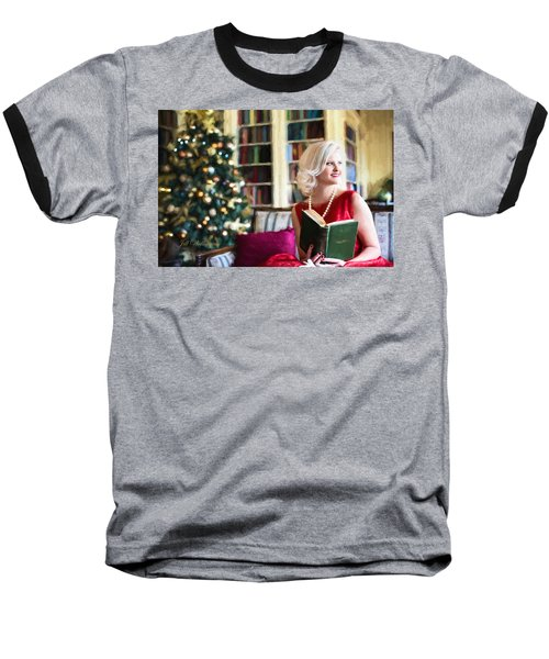 Vintage Val Home For The Holidays Baseball T-Shirt
