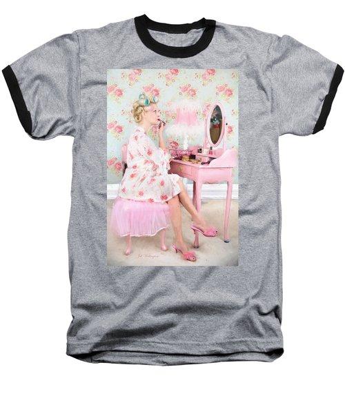 Vintage Valentine Date Baseball T-Shirt