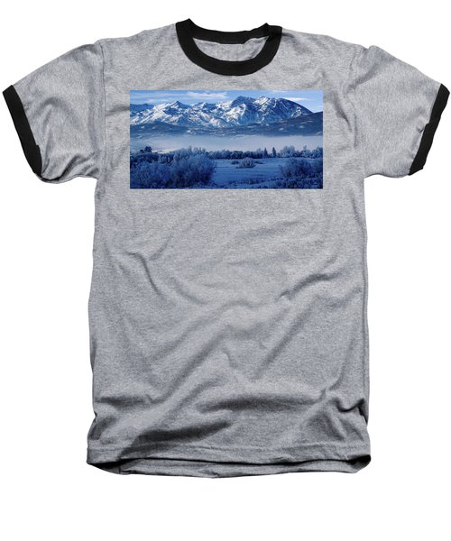 Winter In The Wasatch Mountains Of Northern Utah Baseball T-Shirt