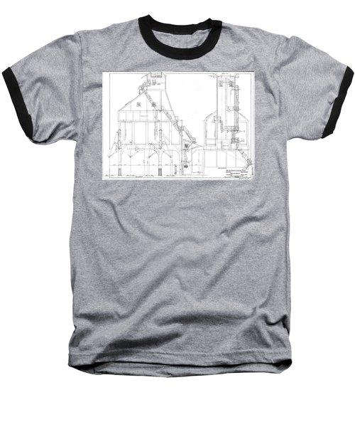 600 Ton Coaling Tower Plans Baseball T-Shirt