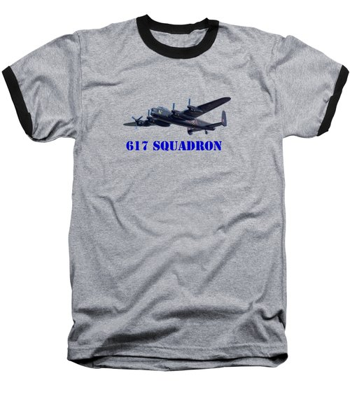 Baseball T-Shirt featuring the photograph 617 Squadron by Scott Carruthers