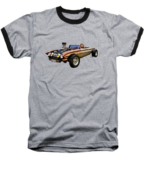 62 Buick Rat Rod Roadster Flaca Baseball T-Shirt