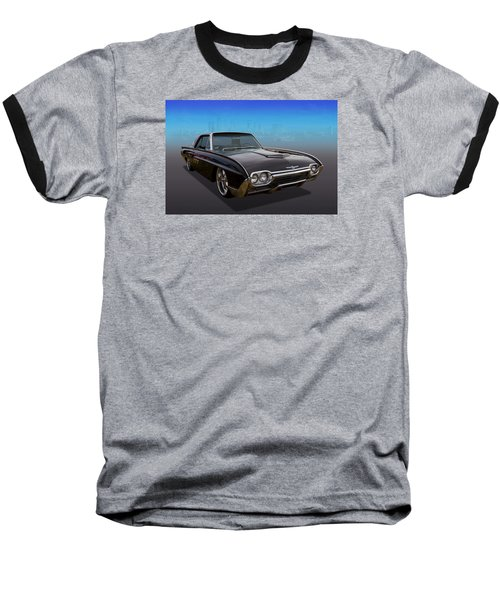 Baseball T-Shirt featuring the photograph 63 Bird by Keith Hawley