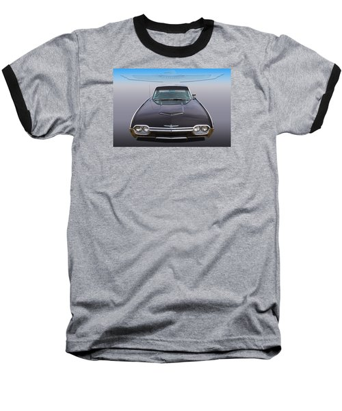 Baseball T-Shirt featuring the photograph 63 Tbird by Keith Hawley