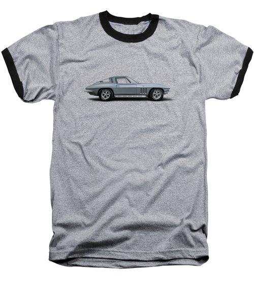 65 Stingray Baseball T-Shirt by Douglas Pittman