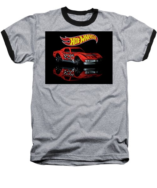 '69 Chevy Corvette-2 Baseball T-Shirt