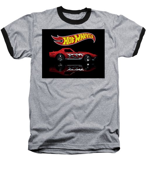 '69 Chevy Corvette Baseball T-Shirt
