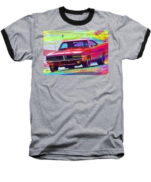 69 Dodge Charger  Baseball T-Shirt