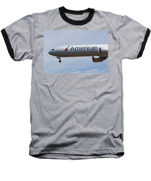 American Airlines Boeing 777 Baseball T-Shirt
