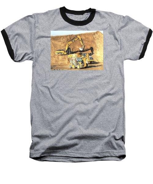 construction whsd Peterburg Baseball T-Shirt by Yury Bashkin