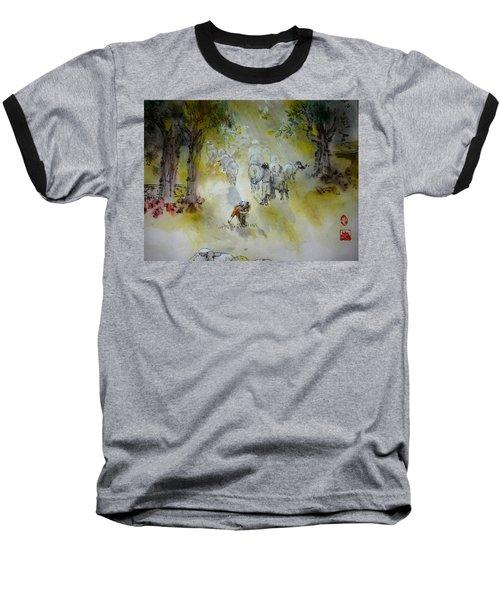 Italy Love Life And Linguini Album Baseball T-Shirt by Debbi Saccomanno Chan