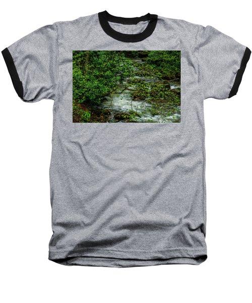 Baseball T-Shirt featuring the photograph Kens Creek Cranberry Wilderness by Thomas R Fletcher